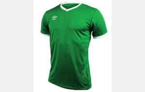 T-Shirt vert UMBRO ESR Junior - CUP JERSEY (ref : 570280-40)