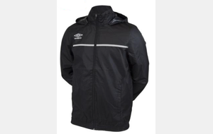 K-Way noir UMBRO ESR Junior - PRO TRAINING CORE SHOWER JACKET (745440-40)