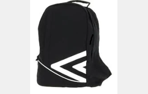Sac à dos noir UMBRO - MEDIUM BACKPACK (ref : 510970-70)